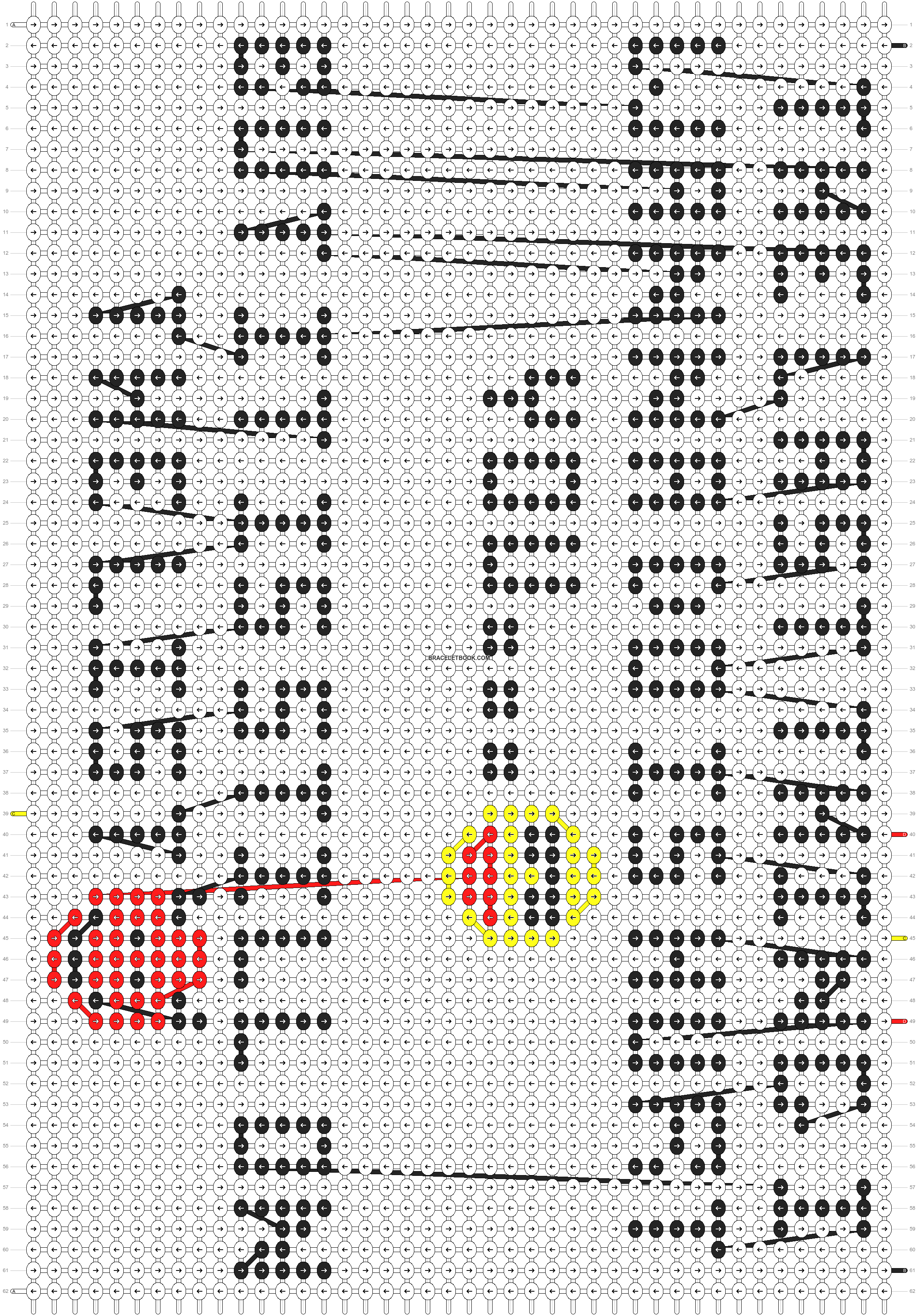 Alpha pattern #13264 pattern
