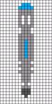 Alpha Friendship Bracelet Pattern #13272