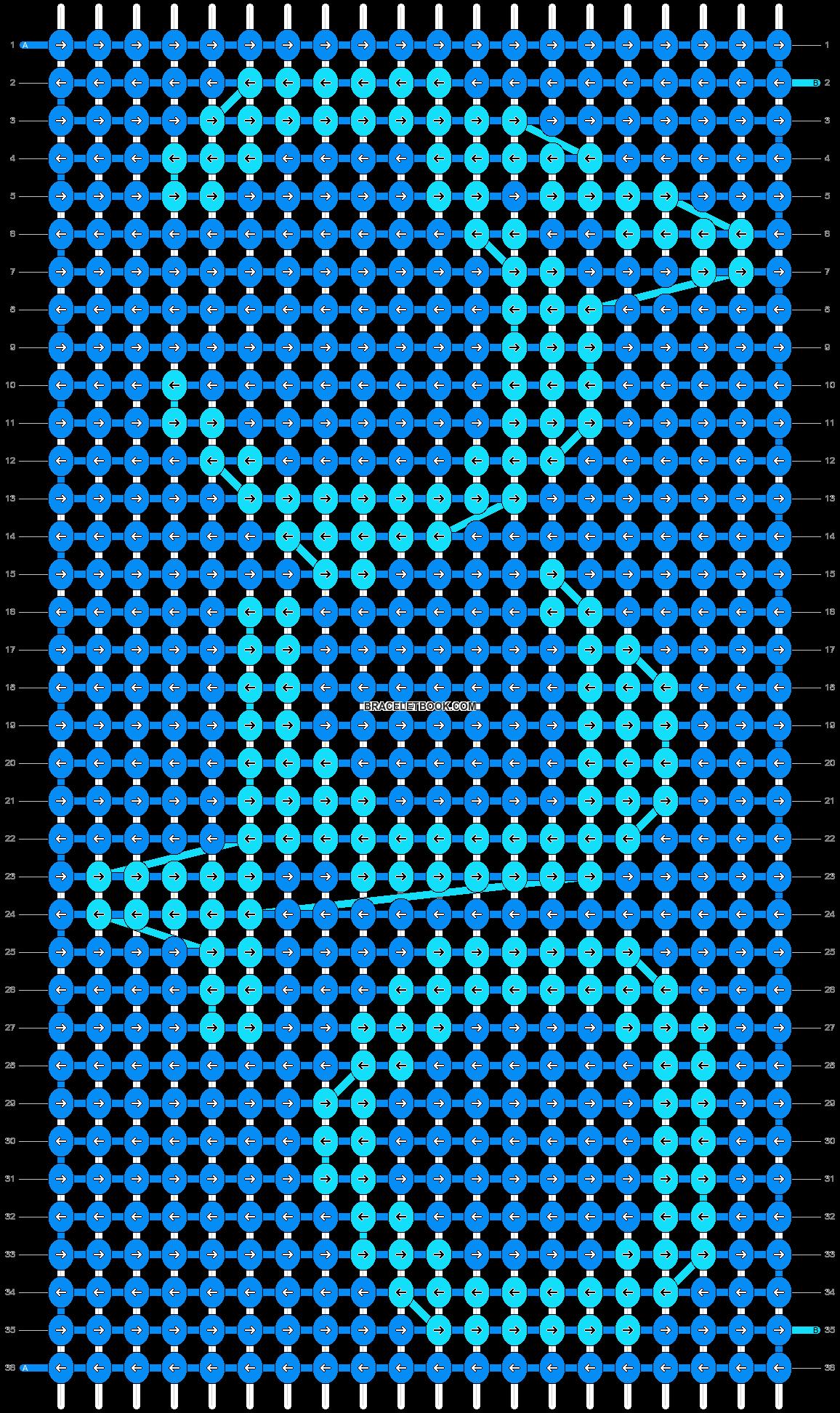Alpha pattern #13273 pattern