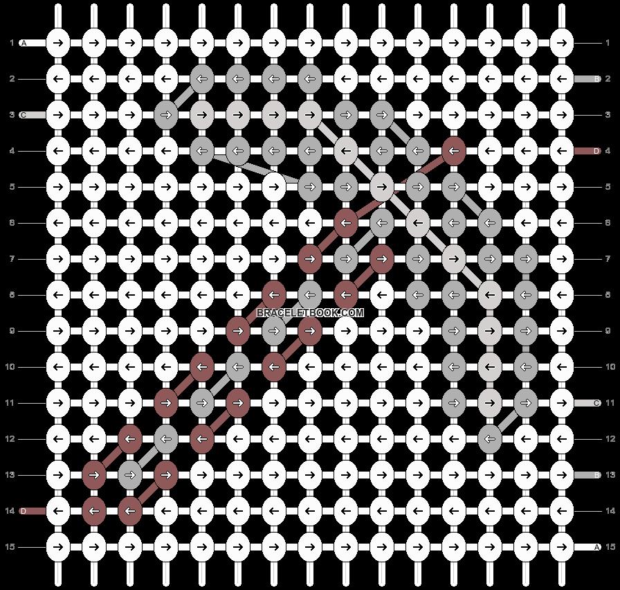 Alpha pattern #13278 pattern