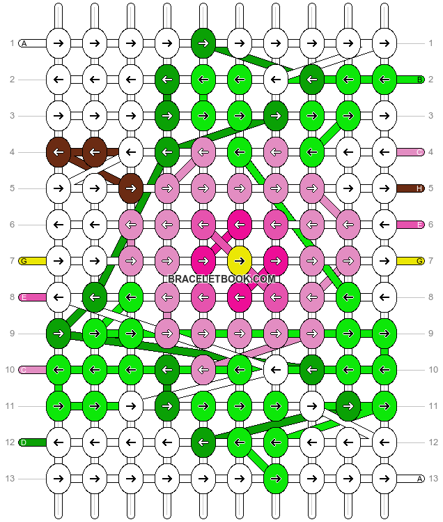 Alpha pattern #13279 pattern