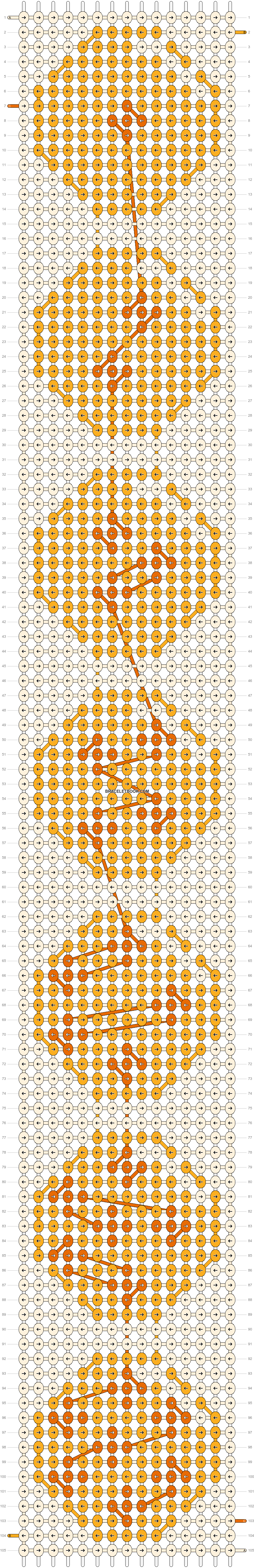 Alpha pattern #13285 pattern