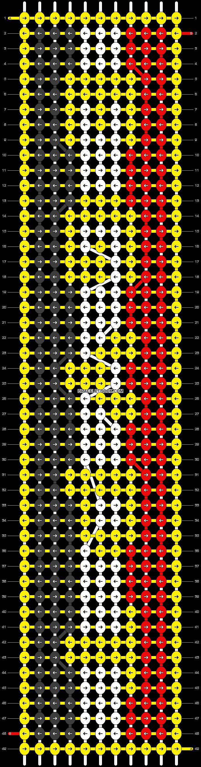 Alpha pattern #13287 pattern