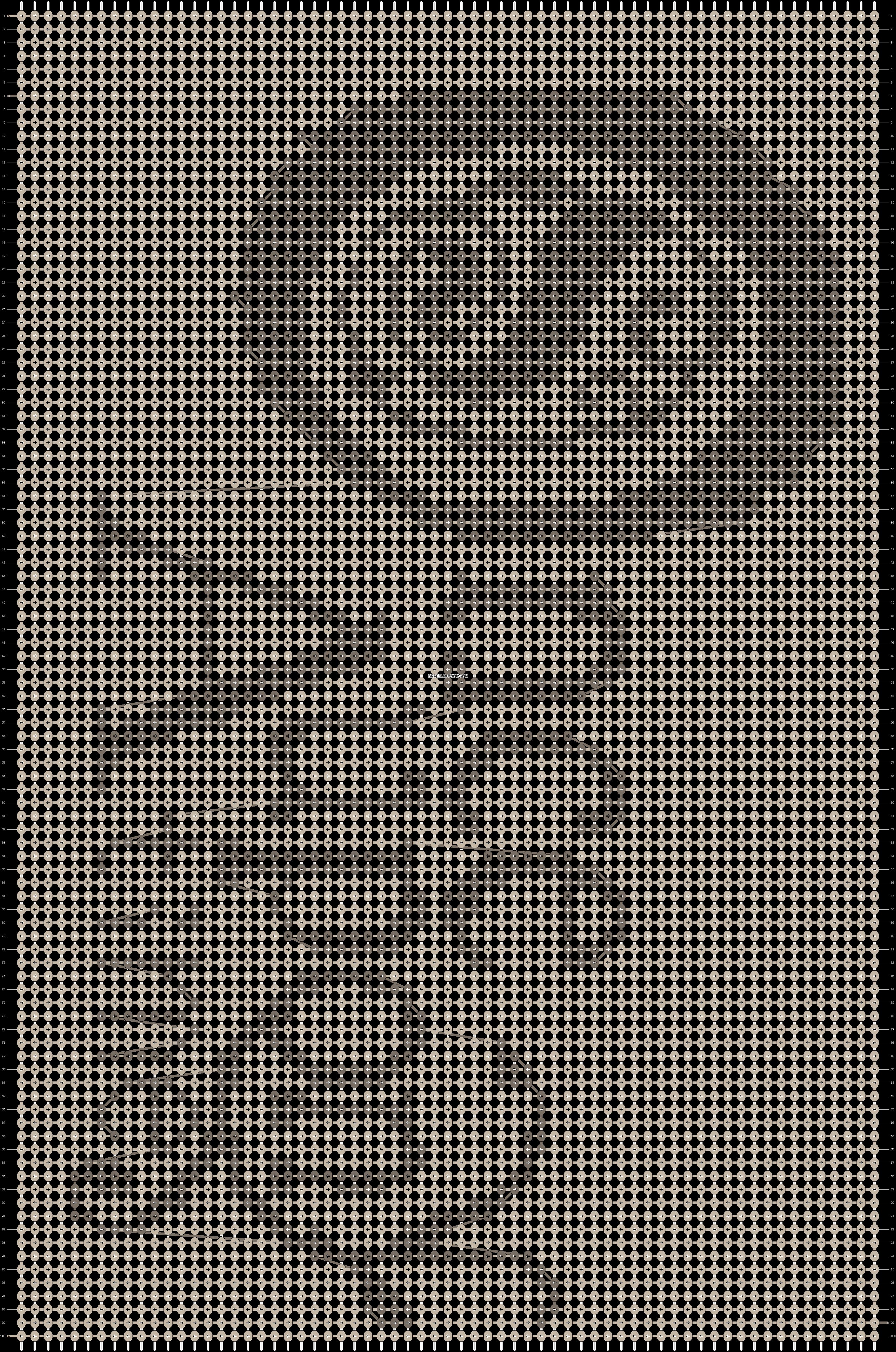 Alpha pattern #13292 pattern