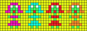 Alpha pattern #13296
