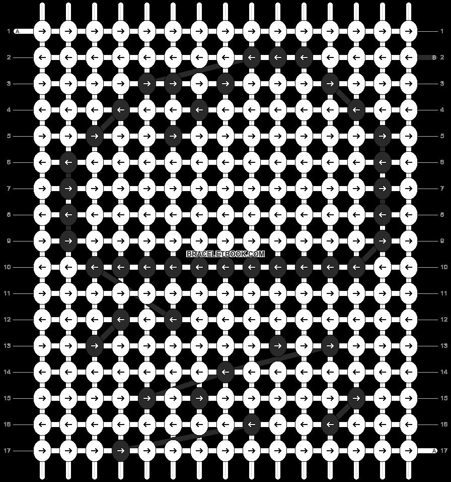 Alpha pattern #13301 pattern