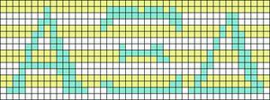 Alpha pattern #13306