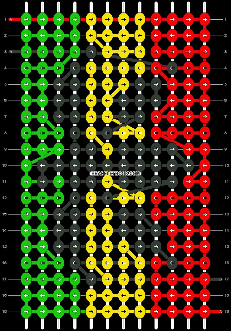 Alpha pattern #13310 pattern