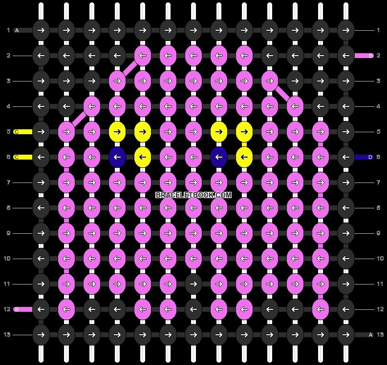 Alpha pattern #13315 pattern