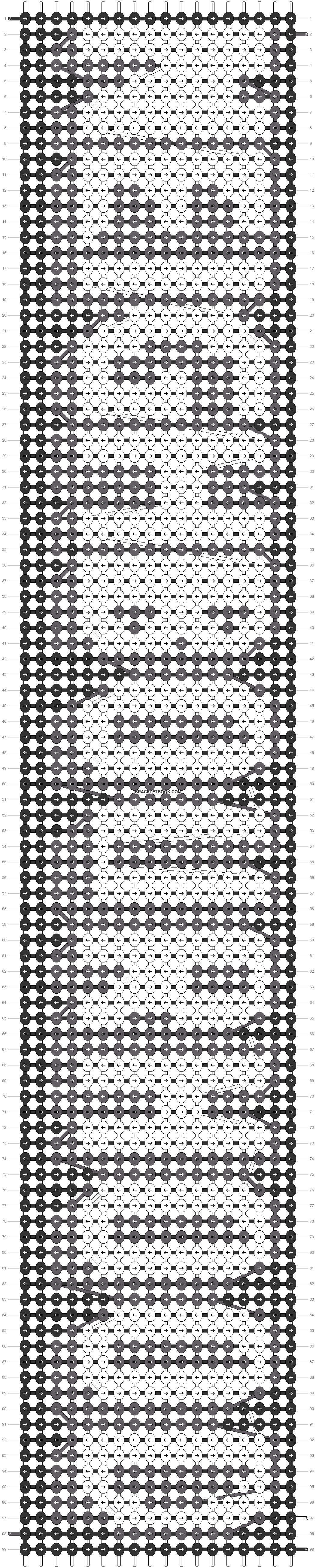 Alpha pattern #13321 pattern