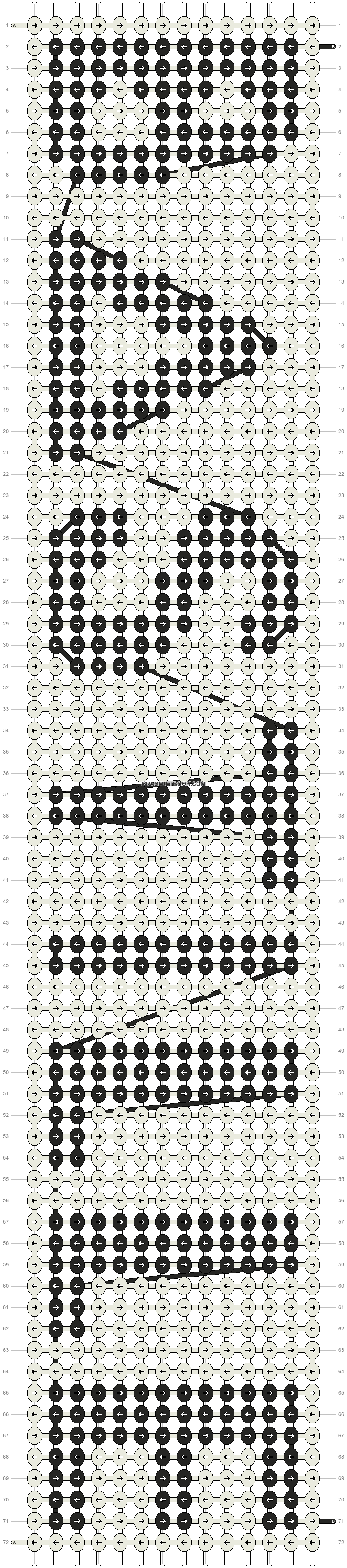 Alpha pattern #13325 pattern