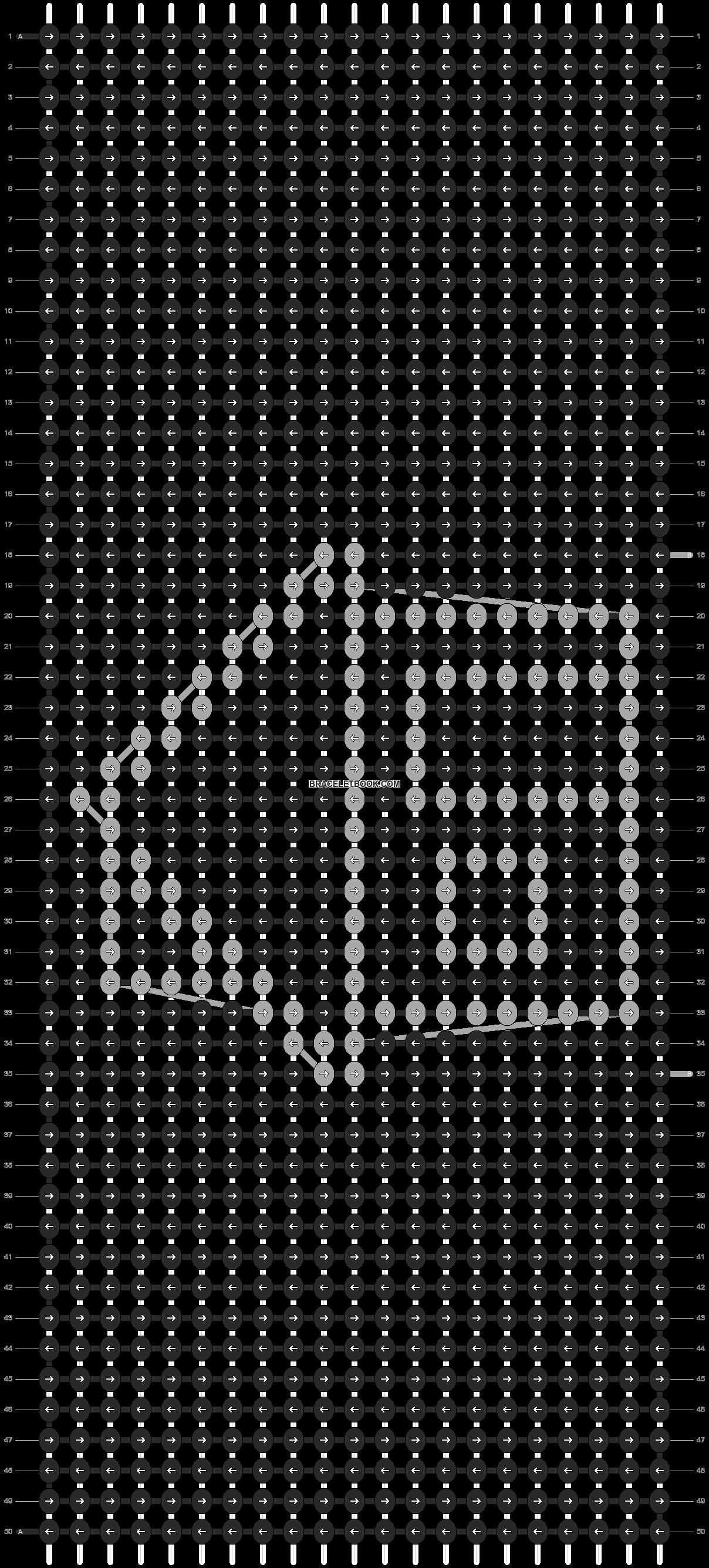 Alpha pattern #13326 pattern