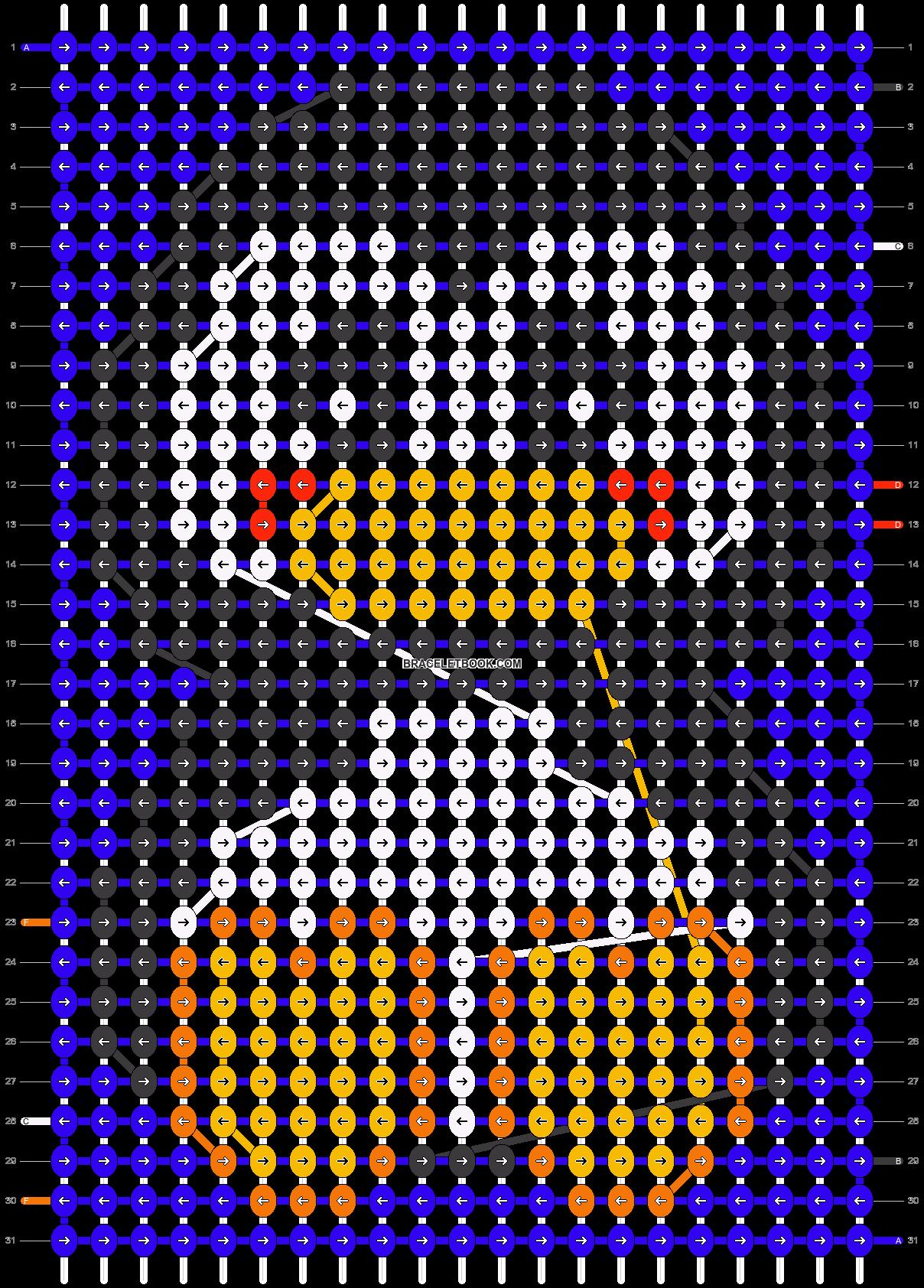 Alpha pattern #13328 pattern