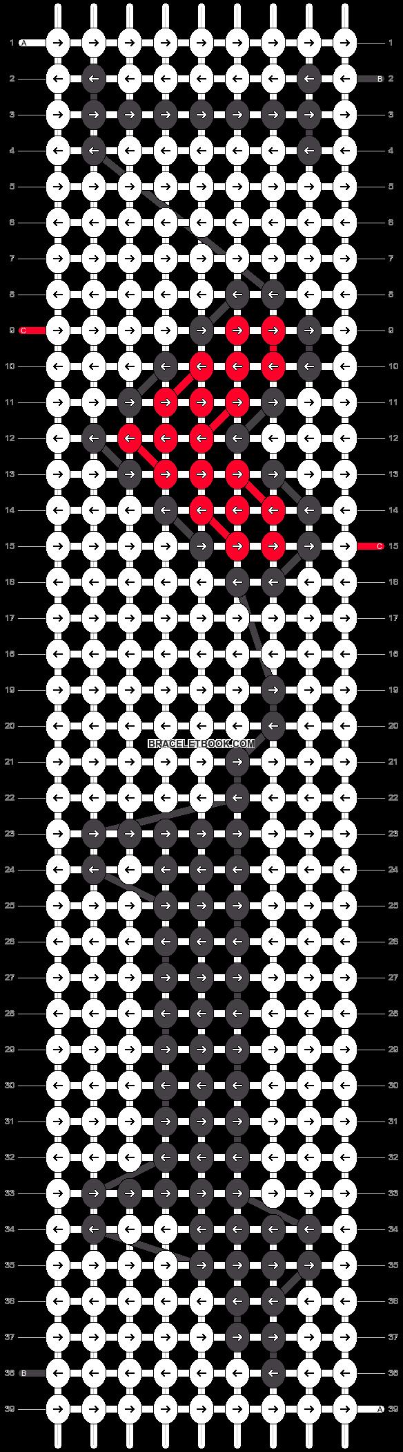 Alpha pattern #13329 pattern