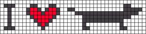 Alpha pattern #13329