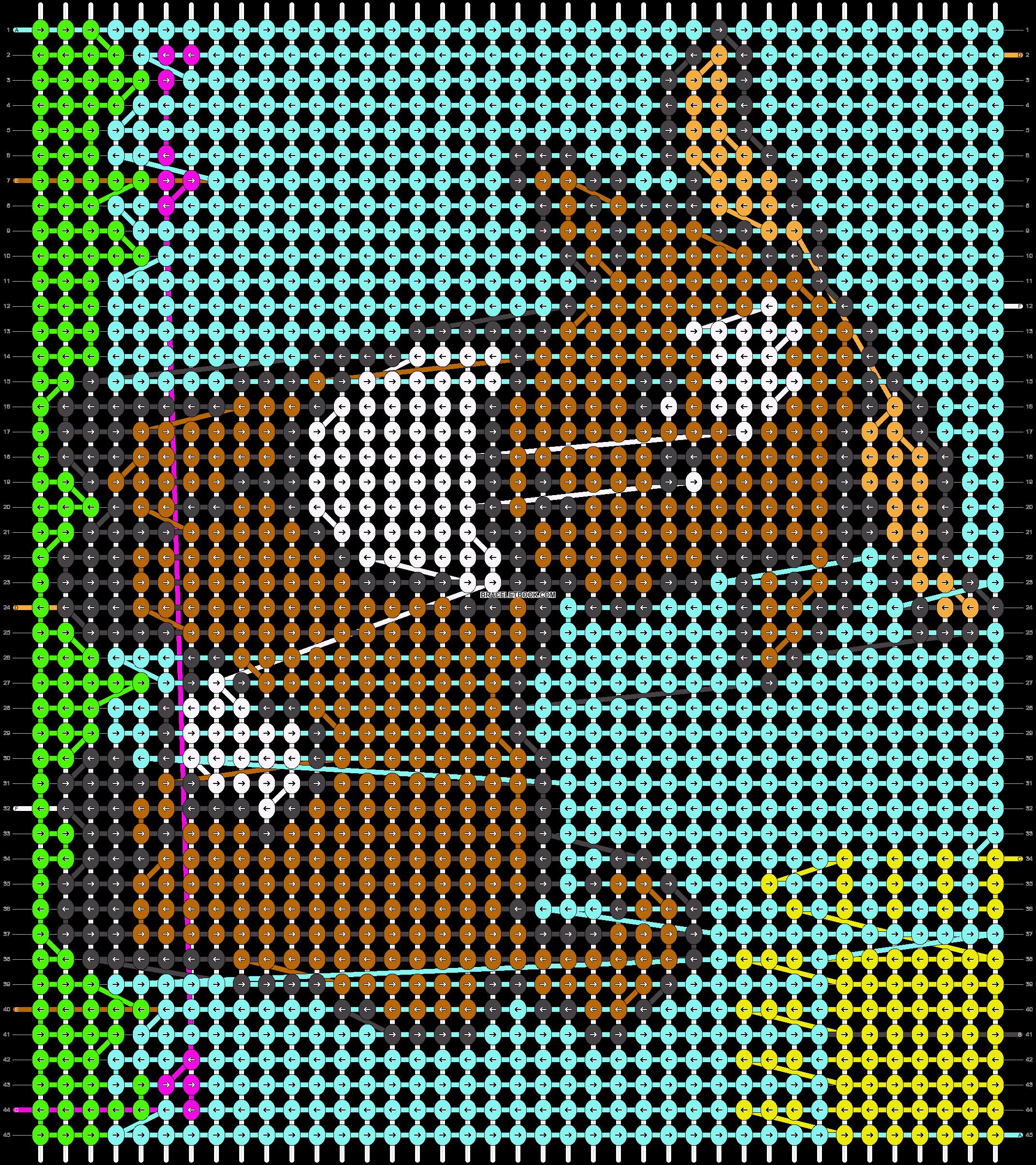 Alpha pattern #13333 pattern