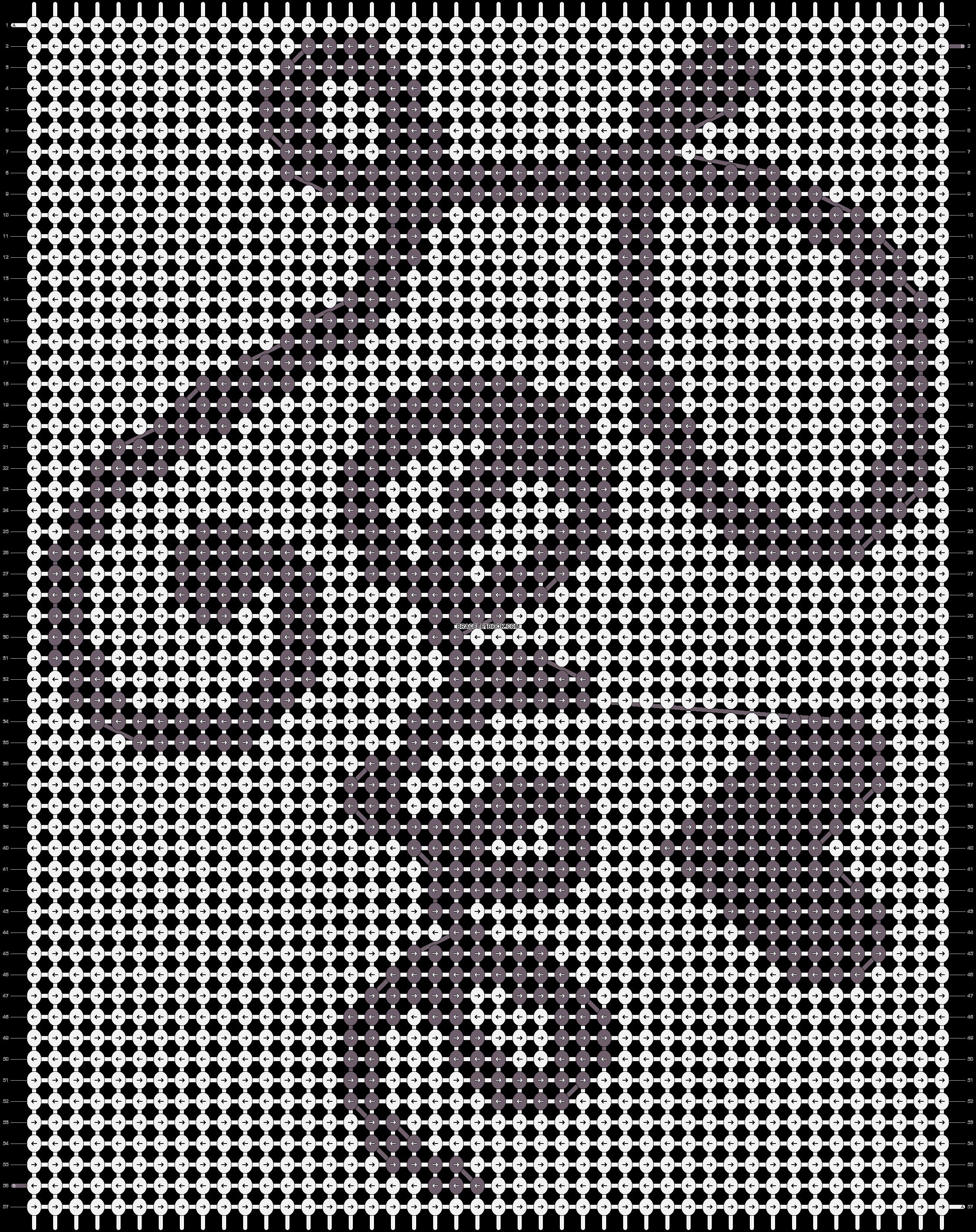 Alpha pattern #13335 pattern