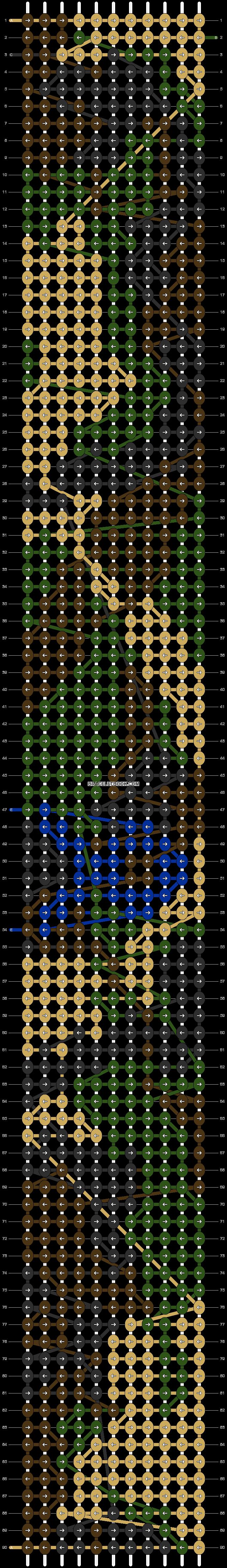 Alpha pattern #13342 pattern