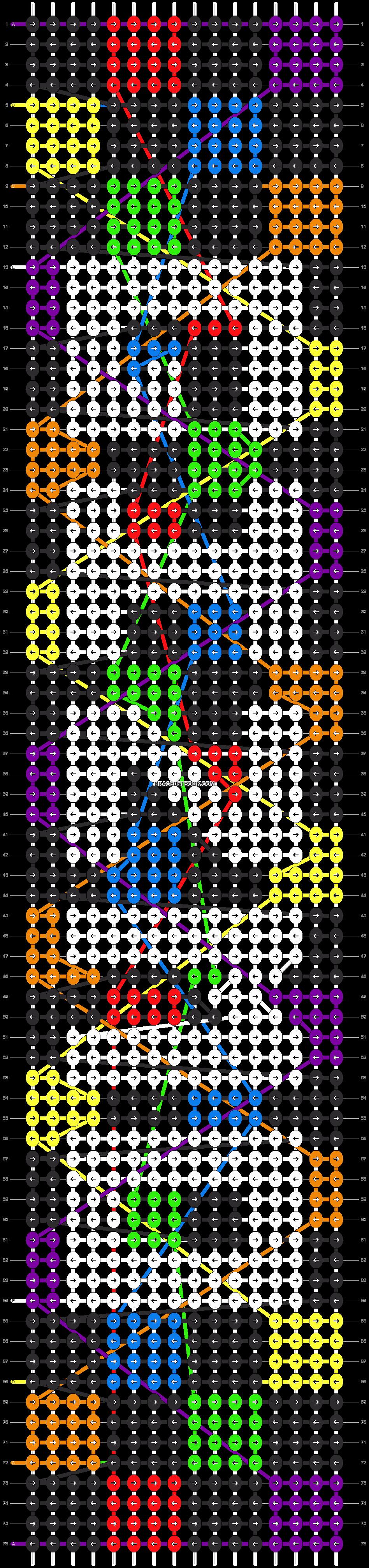Alpha pattern #13347 pattern