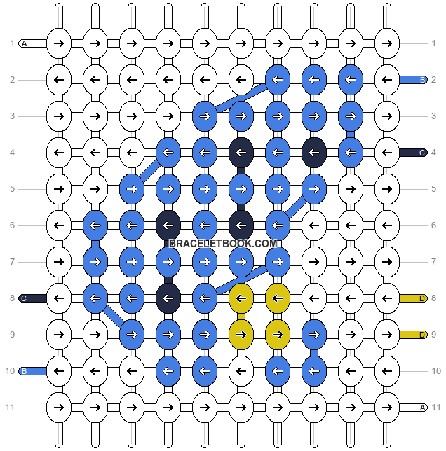 Alpha pattern #13351 pattern