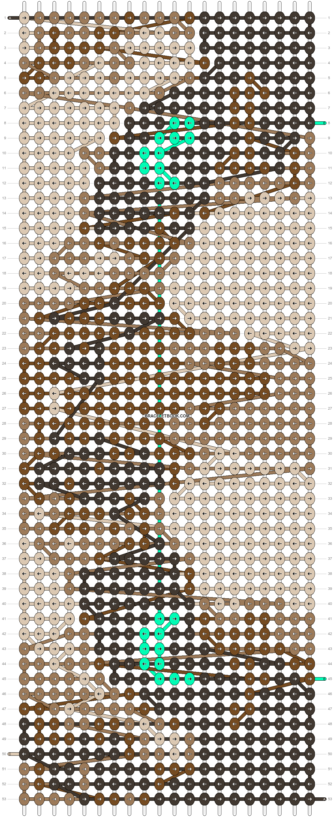 Alpha pattern #13352 pattern