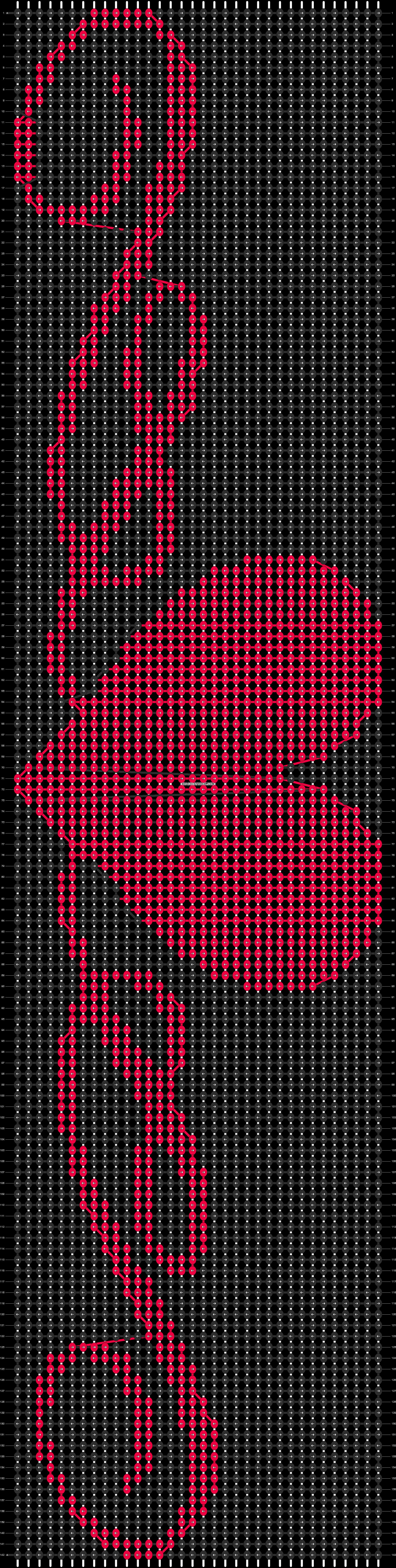 Alpha pattern #13357 pattern