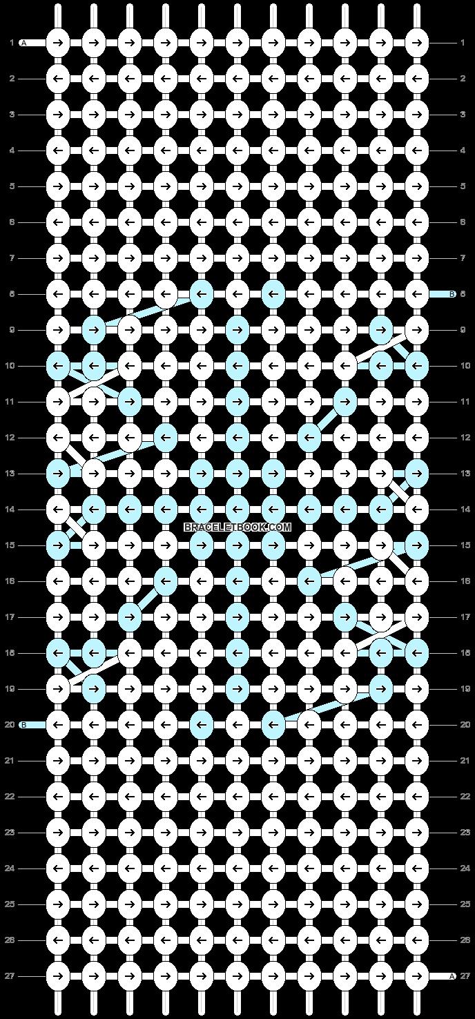 Alpha pattern #13359 pattern