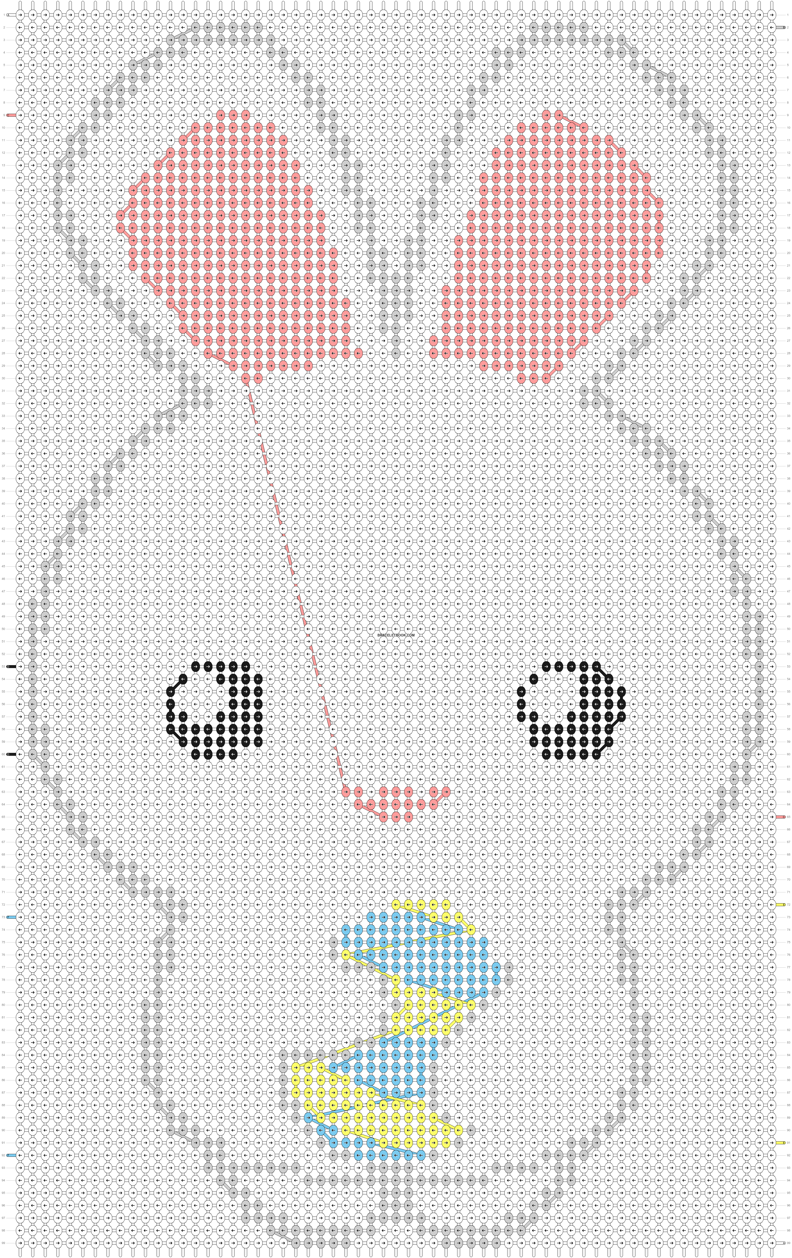 Alpha pattern #13360 pattern