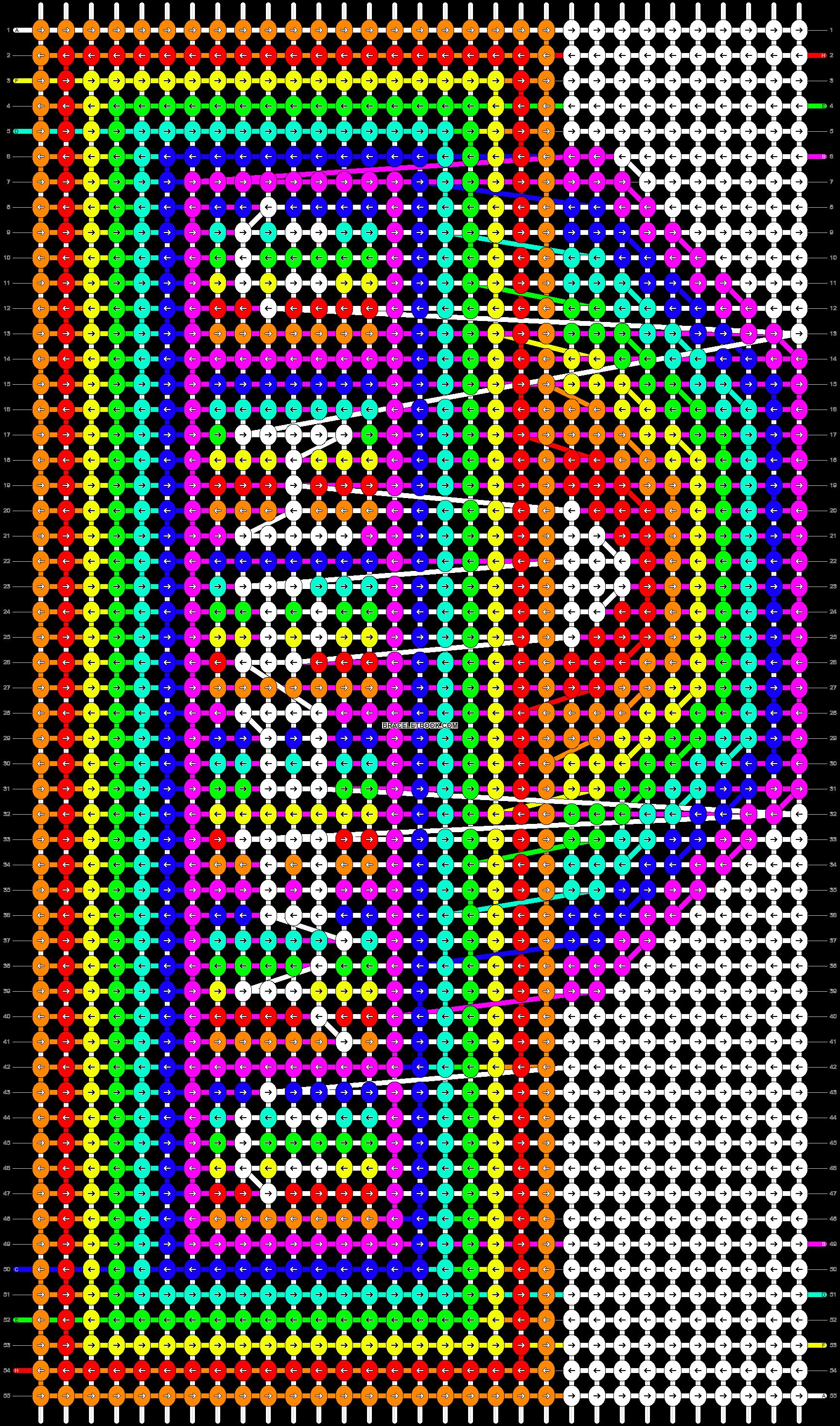 Alpha pattern #13365 pattern