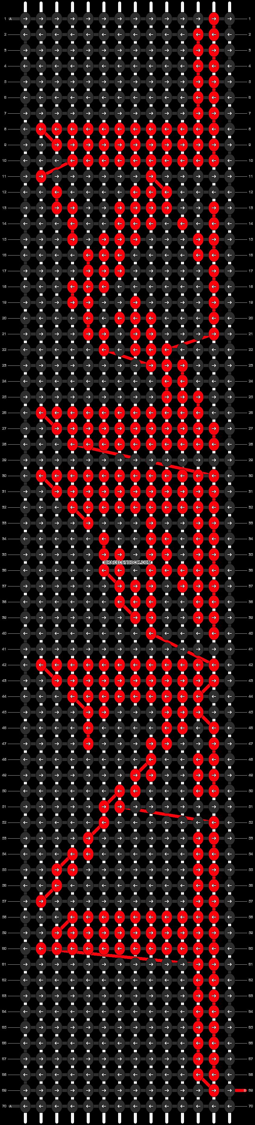 Alpha pattern #13372 pattern
