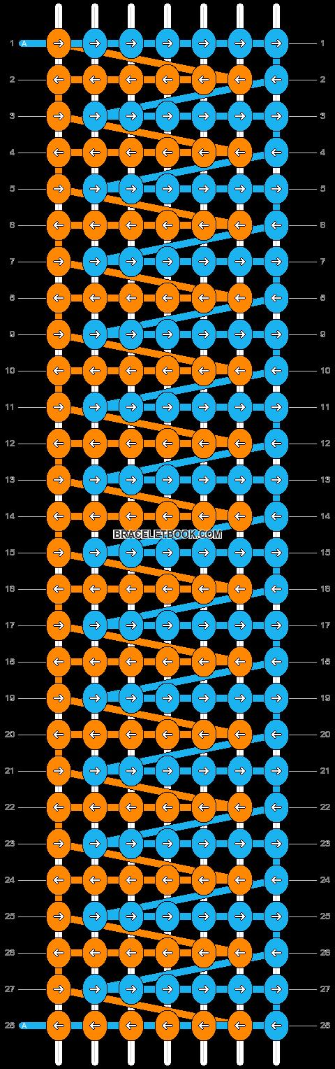 Alpha pattern #13378 pattern