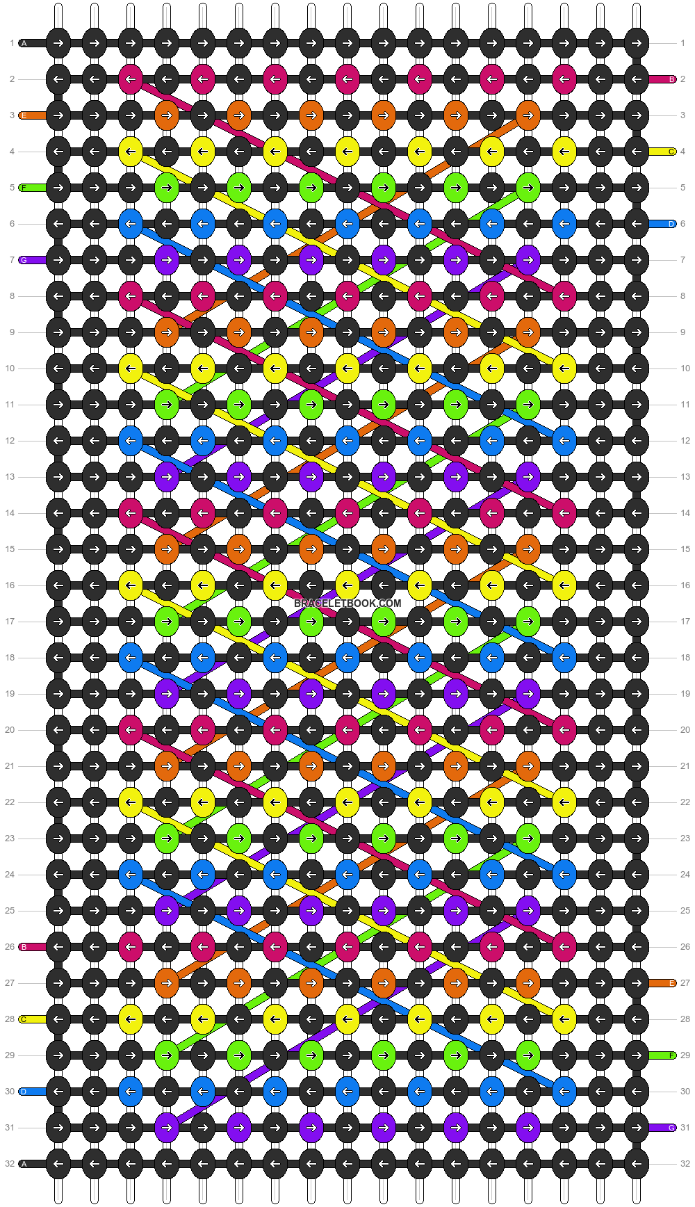 Alpha pattern #13381 pattern