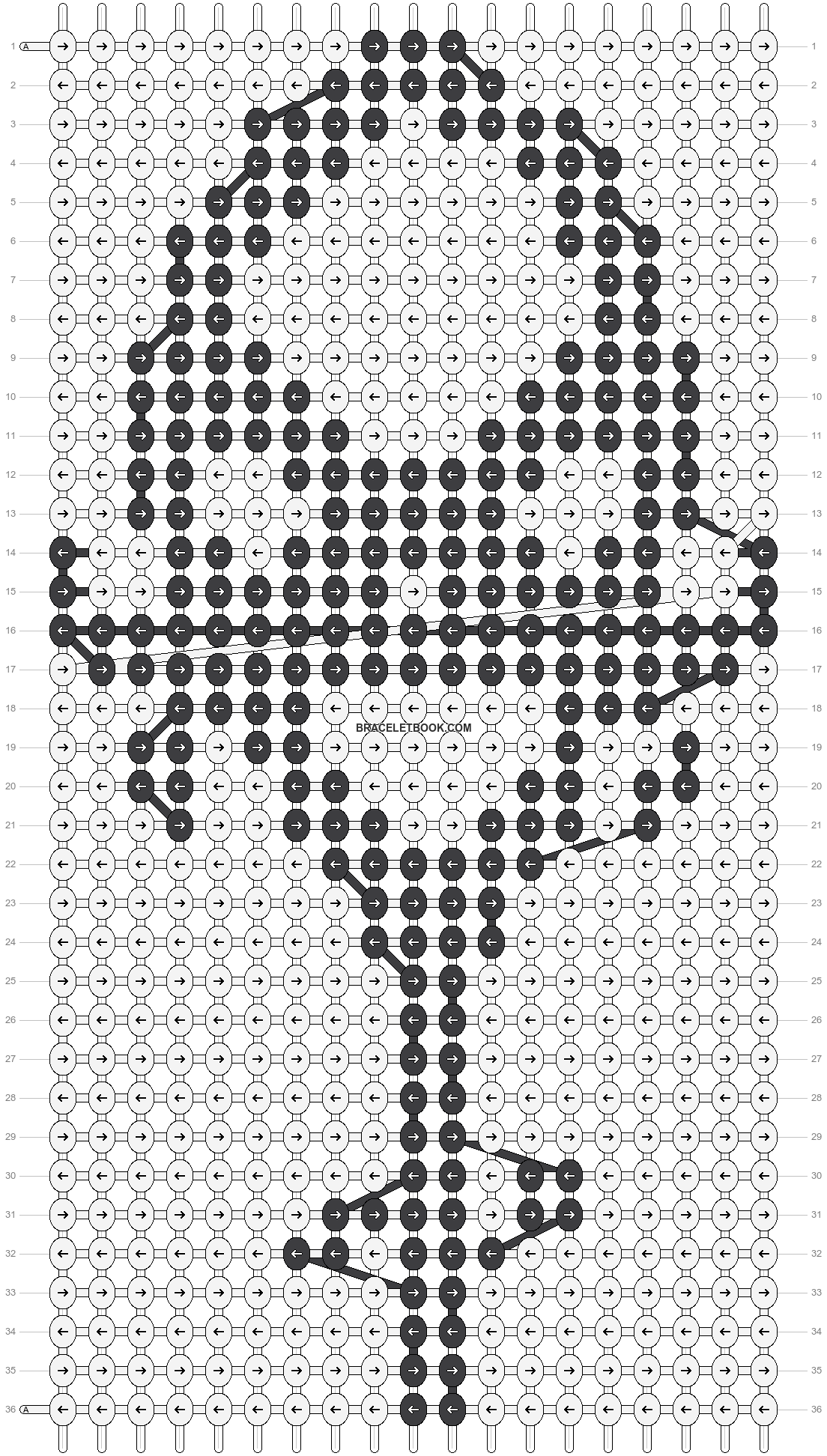 Alpha pattern #13383 pattern