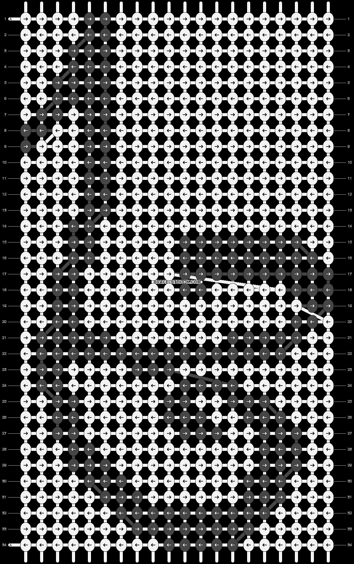 Alpha pattern #13385 pattern