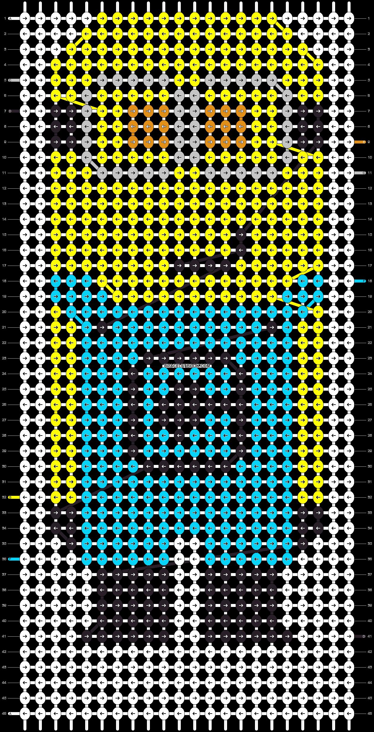 Alpha pattern #13386 pattern