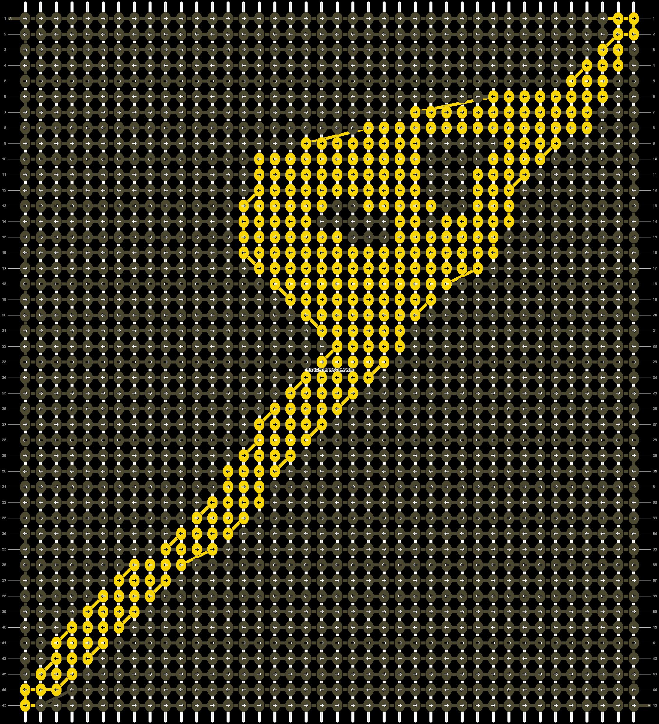 Alpha pattern #13387 pattern