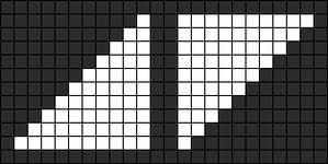 Alpha Friendship Bracelet Pattern #13393