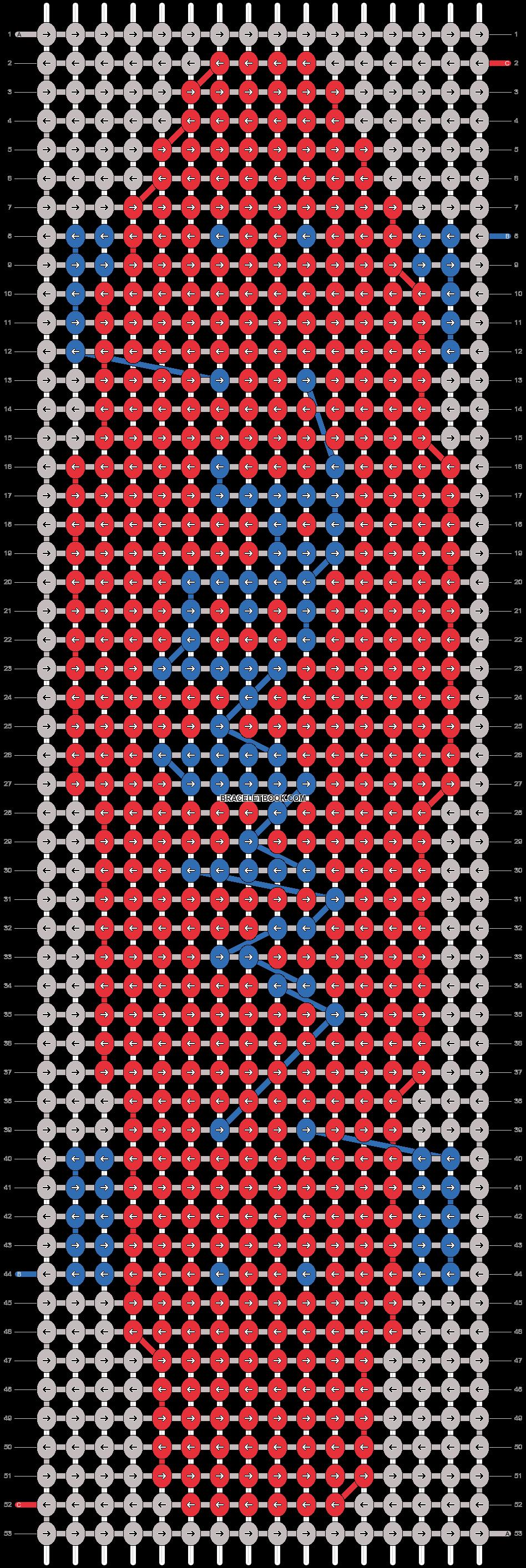 Alpha pattern #13395 pattern