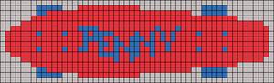 Alpha pattern #13395