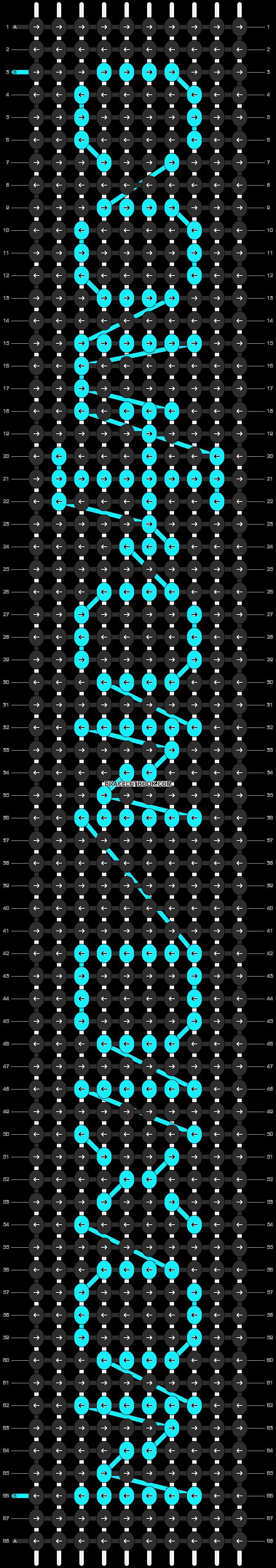 Alpha pattern #13400 pattern