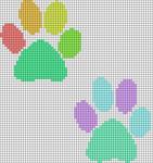 Alpha pattern #13401