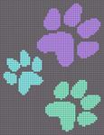 Alpha pattern #13402