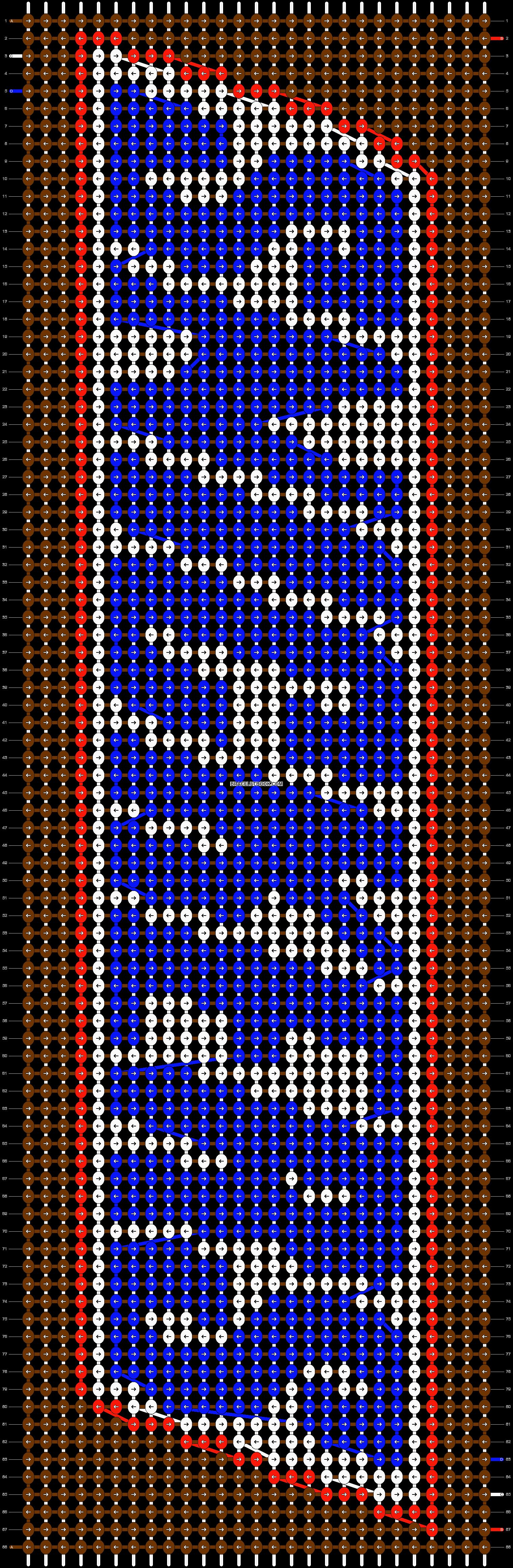 Alpha pattern #13403 pattern