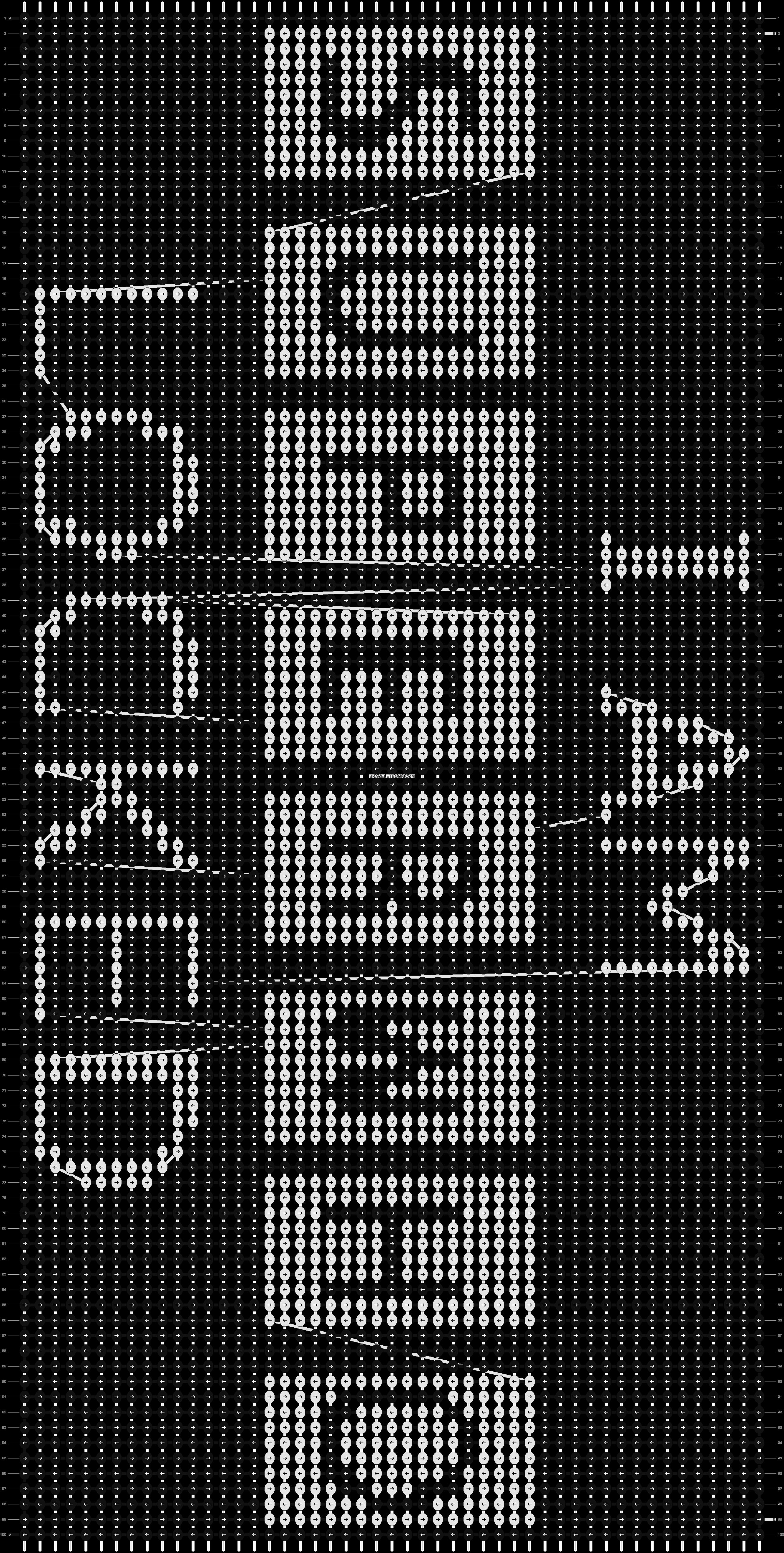 Alpha pattern #13416 pattern