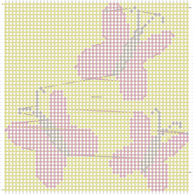 Alpha pattern #13418 pattern