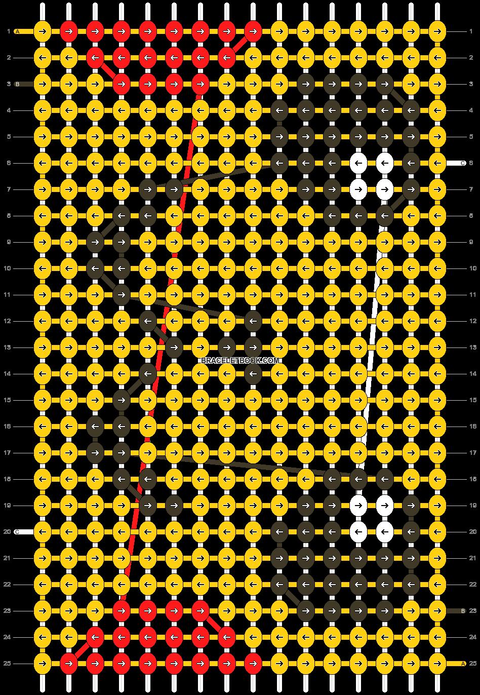 Alpha pattern #13420 pattern