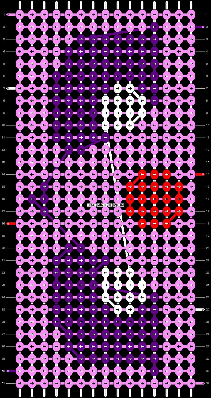Alpha pattern #13421 pattern