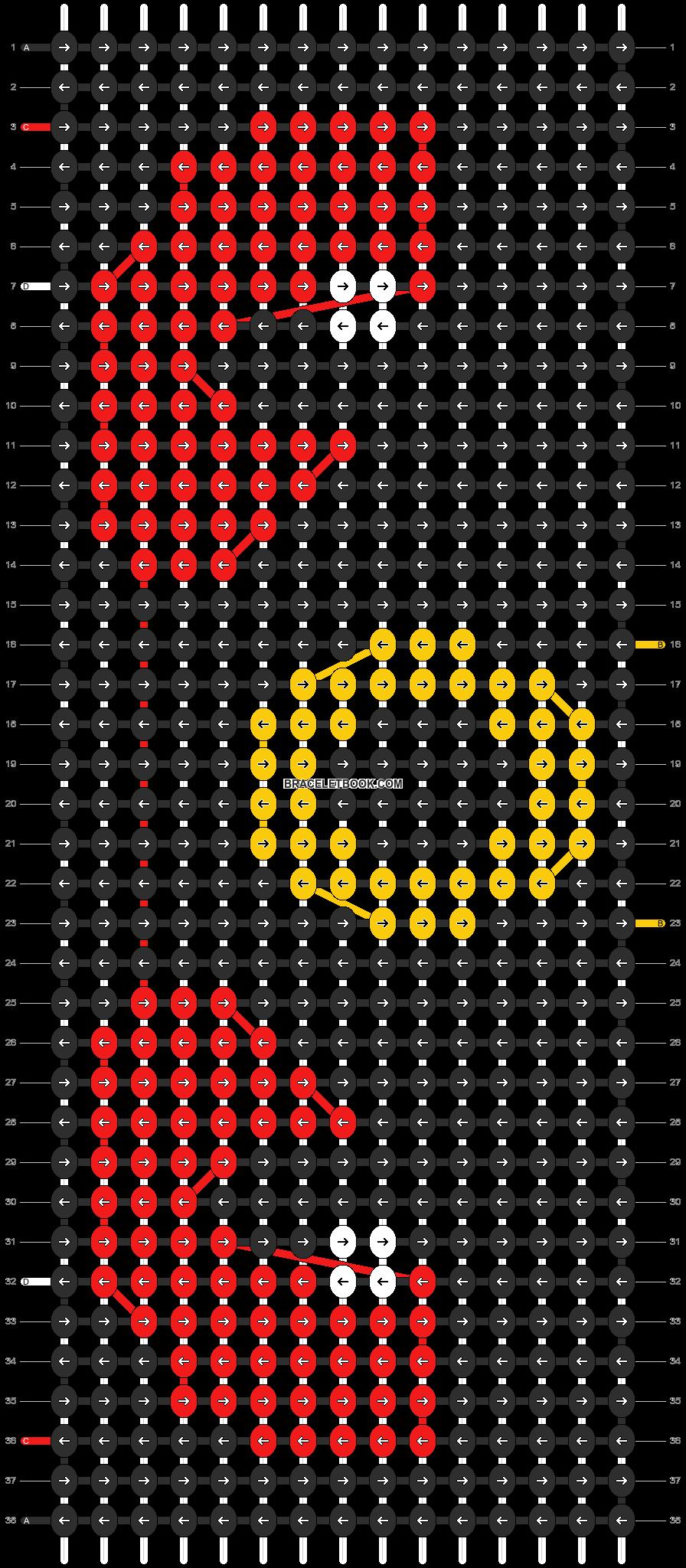 Alpha pattern #13422 pattern