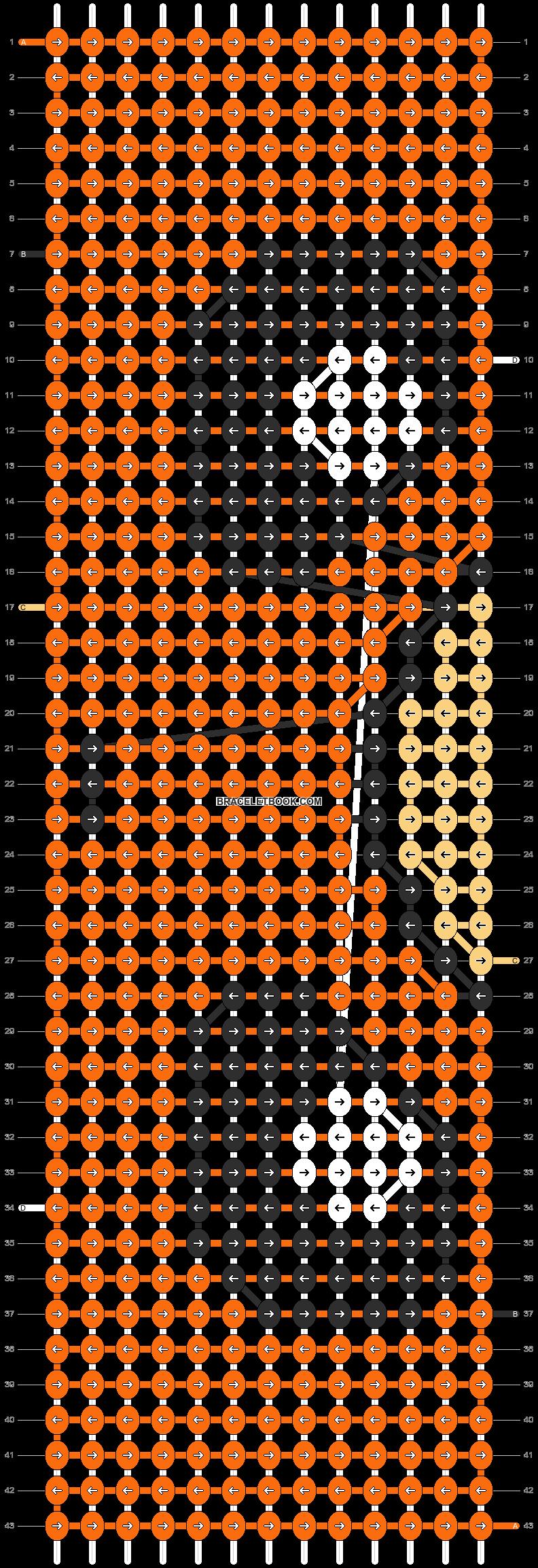 Alpha pattern #13423 pattern