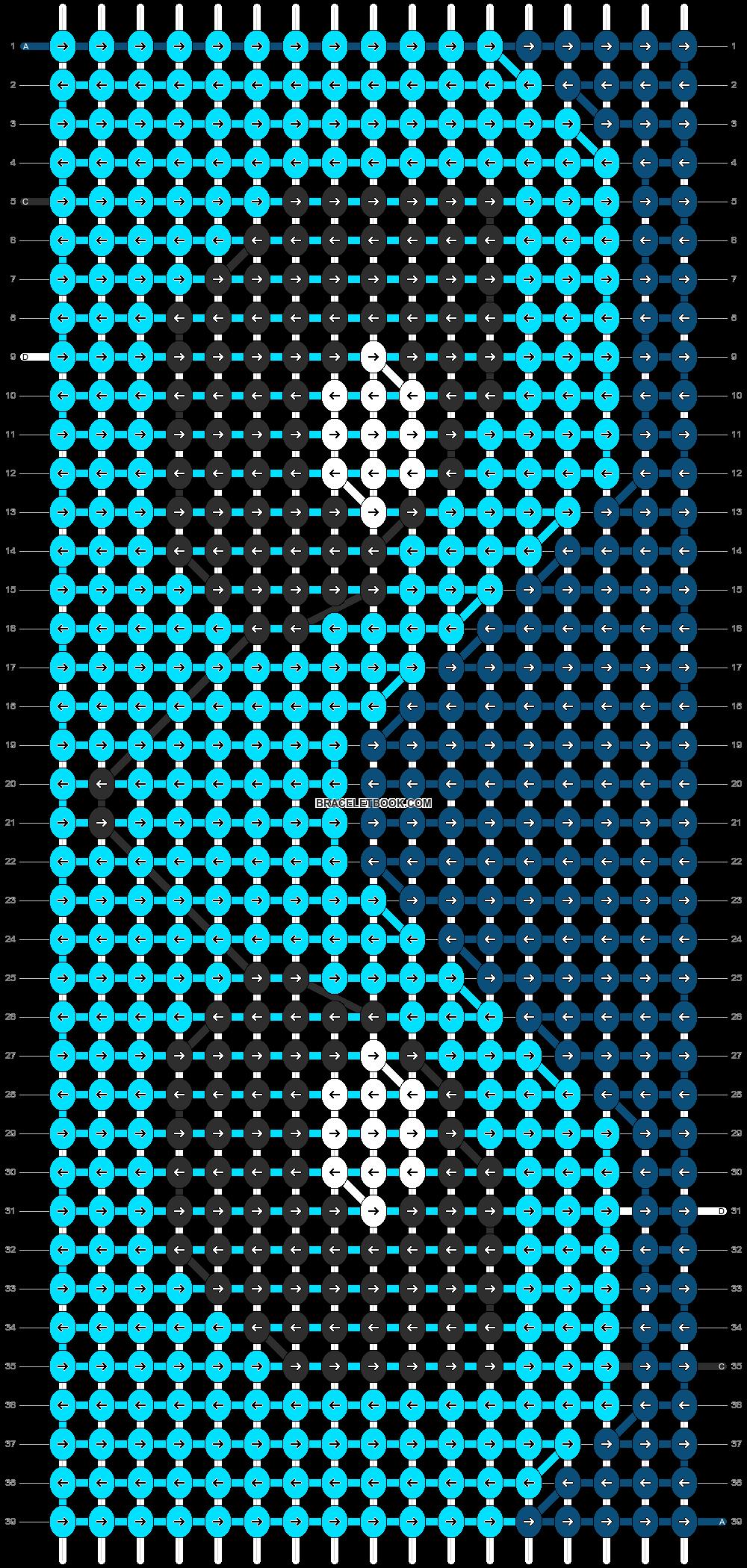 Alpha pattern #13424 pattern